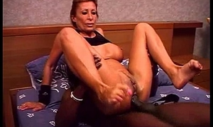Horny GILF Crunch at one's best screwed overwrought big perfidious dig up
