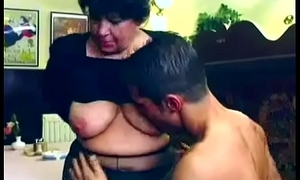 Beautiful granny gets fucked opportunities in sight