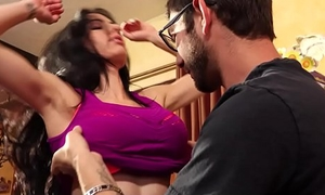 FamilyHookUps - Stepmom Seduced coupled with Plowed by Stepson