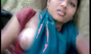 Desi gf masti with bf alongside jungal